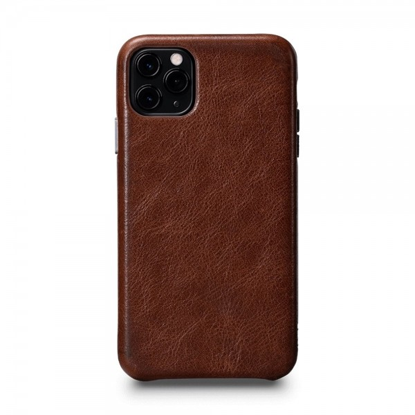 Sena LeatherSkin Leather Case for iPhone 11 Pro Max - Cognac, SFD44706NPUS