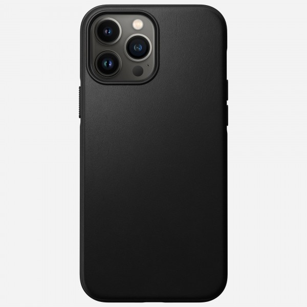 Nomad Modern Leather Case for iPhone 13 Pro Max - Black, NM01063285
