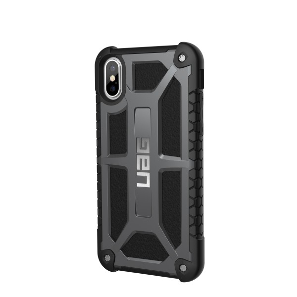 Urban Armor Gear Monarch for iPhone X/Xs - Graphite, U-IPHX-M-GR