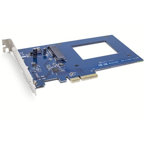"OWC Accelsior S - PCIe to 2.5"" 6Gb/s SATA SSD Host Adapter"