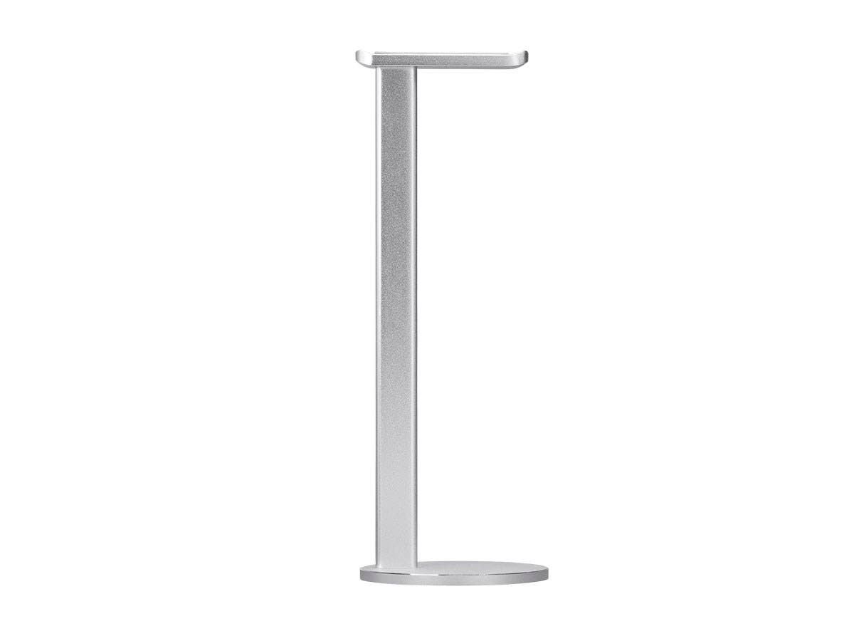 Workstream by Monoprice Brushed Aluminum Desk Headphone Stand, 33810