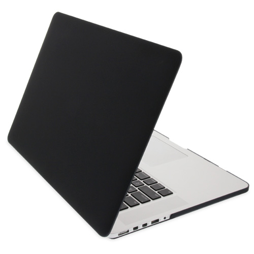 """NewerTech NuGuard Snap-On Laptop Cover for 13"""" MacBook Pro with Retina display (2012-2015) - Black, NWTNGSMBPR13BK"""
