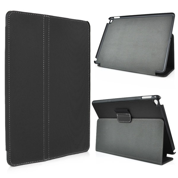 Leather Flip Case for iPad Air 2 - Black, IPD6-FLIP-65961