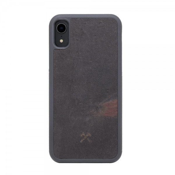 Woodcessories EcoBump Stone for iPhone XR - Black, sto053