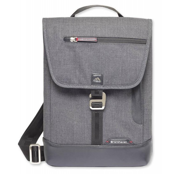 Brenthaven Vertical Messenger Bag for New Surface Pro / Pro 4 / Pro 3 - Graphite, BR-1974000