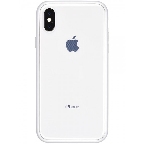 Power Support Shock Proof Air Jacket for iPhone X - Silver, PGK-40