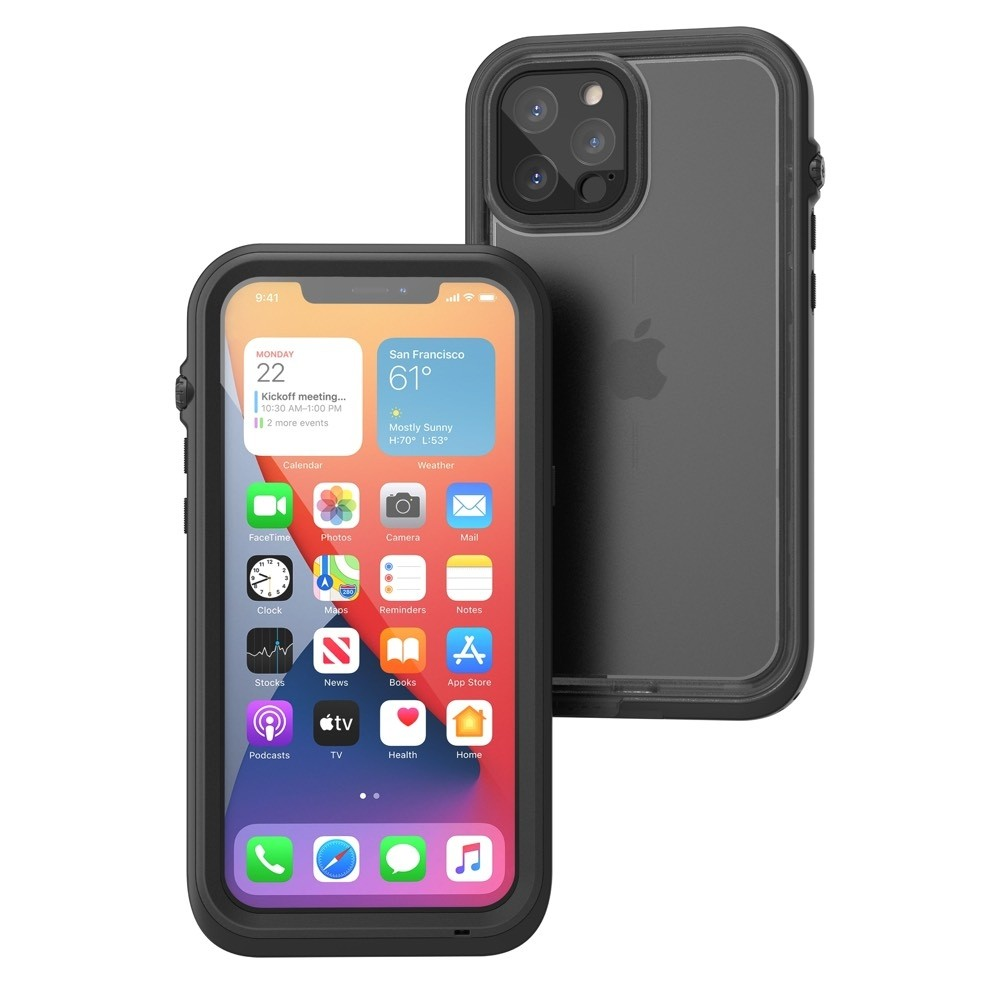 Catalyst Total Protection Case for iPhone 12 Pro Max - Black, CATIPHO12BLKLW