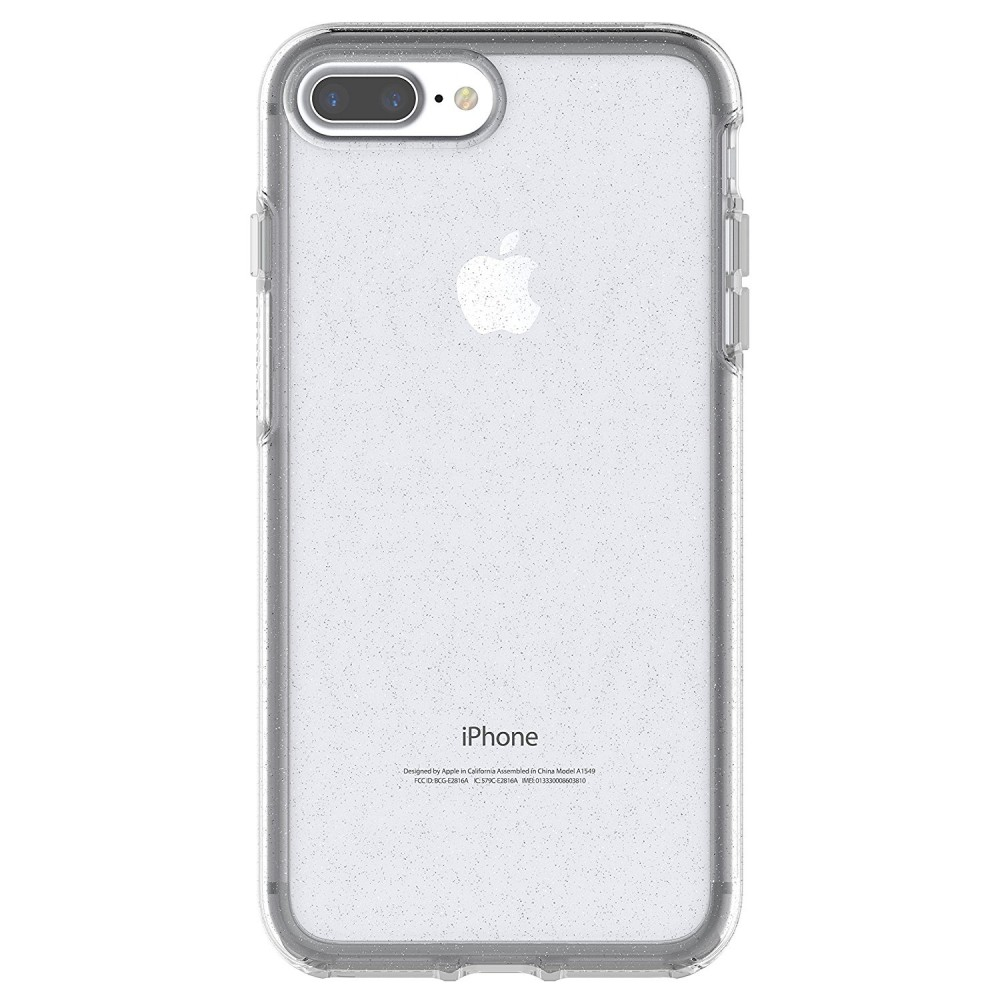 OtterBox SYMMETRY Clear Series Case for iPhone 8 Plus & iPhone 7 Plus - Stardust, 77-56917