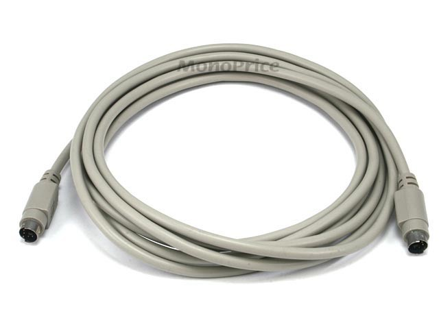 3m PS/2 MDIN-6 Male to Male Cable, DIS-PS2-94