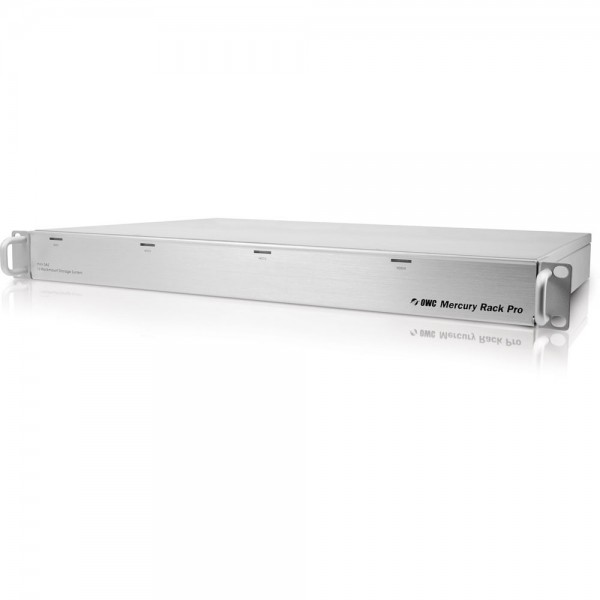 8.0TB (4 x 2.0TB) OWC Mercury Rack Pro 4 Bay SAS 1U Rackmount Solution - Enterprise Class, OWMRPMSS4B08.0E