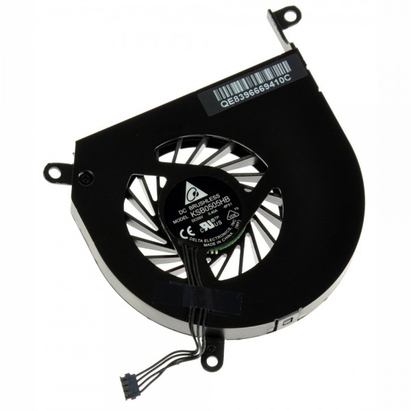 """MacBook Pro 15"""" Late 2008 through Mid 2012 (excluding Mid 2009 2.53 GHz) Left Fan - Used, IF161-017-1"""