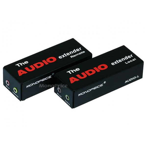 Audio Extender over CAT 5e cable upto 300 meter, AUD-EXT-3597