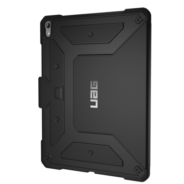 UAG Metropolis Folio iPad Pro 12.9-inch (3rd Gen, 2018), Feather-Light Rugged Military Drop Tested iPad Case with Apple Pencil Holder - Black , 121396114040