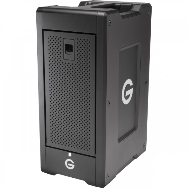 G-Technology G-SPEED Shuttle XL 24TB 8-Bay Thunderbolt 2 RAID Array with Two ev Bay Adapters (6 x 4TB), GTGSSXLT224T