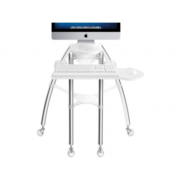 "Rain Design iGo stand for your flat panel iMac 24"" or Cinema Display 24"" - Sitting model, RAI12003"