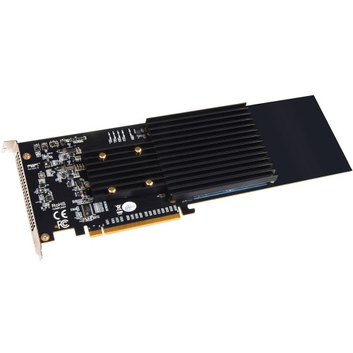 Sonnet M.2 4x4 PCIe 3.0 x16 Card for NVMe SSDs