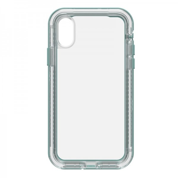 LifeProof NËXT Case for iPhone X - Clear/Aquifer, 77-57188