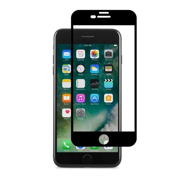 Moshi IonGlass for iPhone 8 Plus/7 Plus - Black, 99MO096003