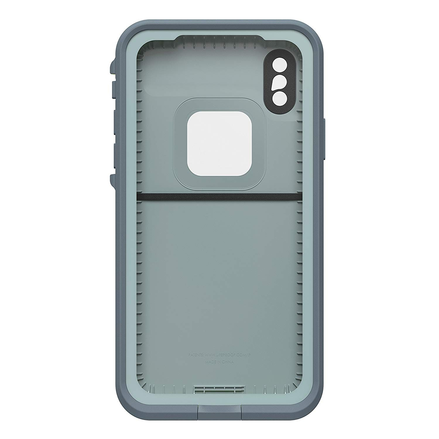 Lifeproof FRĒ Series Waterproof Case for iPhone X - Abyss/Lime/Stormy Weather, 77-57164
