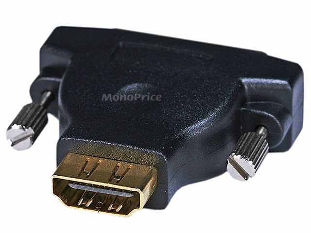M1-D(P&D) Male to HDMI Female Adapter (Gold Plated), M1-HDMI-2689