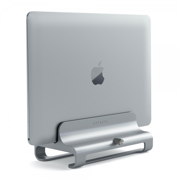 Satechi Universal Vertical Laptop Stand - Silver, ST-ALVLSS