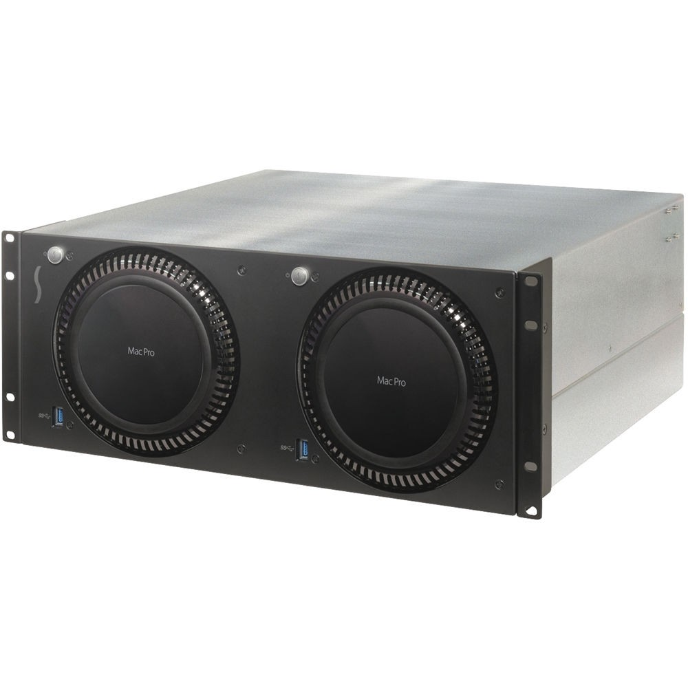 Sonnet RackMac Pro (with 2 Computer Mounting Modules) , RACK-PRO-2X