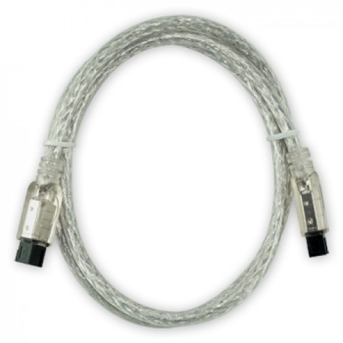Newertech 9 PIN/ 9PIN FireWire 800 - FireWire 800 Cable 90cm / 3FT, Clear