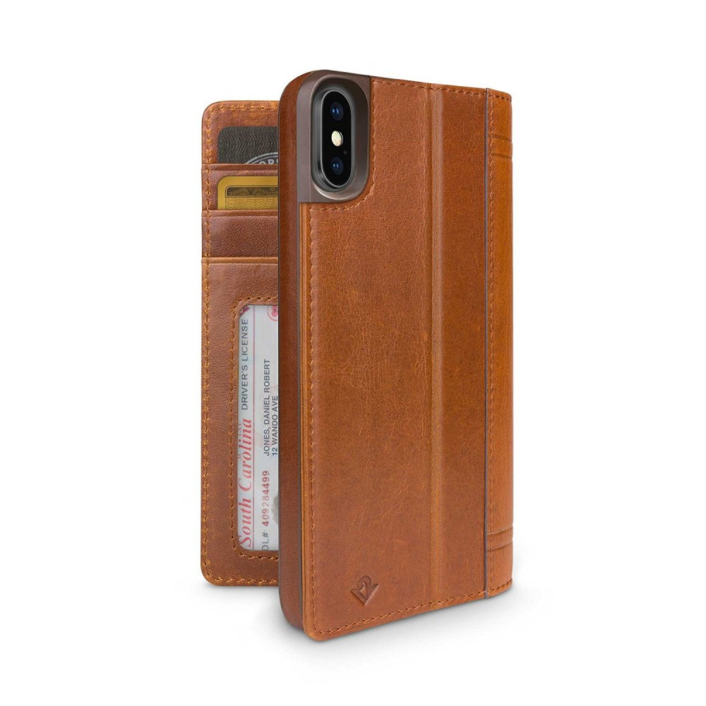Twelve South Journal for iPhone Xs Max - Brown, 12-1817