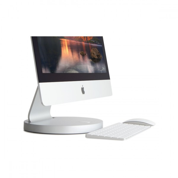 "Rain Design i360 turntable for the aluminum Apple 24""/27"" iMac or Apple Cinema Display 24""/27"", RAI-360-27"