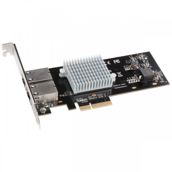 Sonnet 2-Port Presto 10GbE 10GBase-T Ethernet PCI Express 3.0 Card, SOG10E2XE3