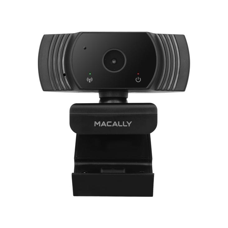 Macally High Definition 1080P Video Webcam for Home, School, and Business (MZOOMCAM) - Black, MZOOMCAM