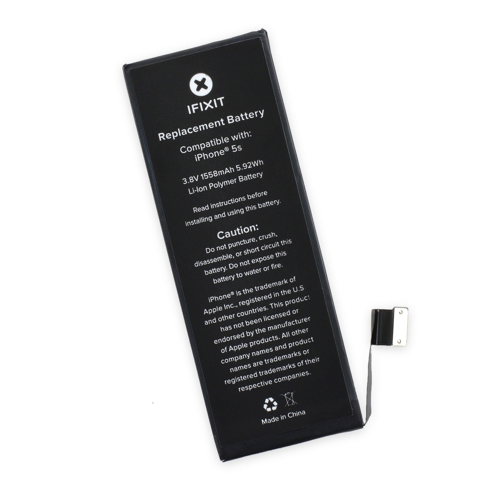 iPhone 5S Battery Replacement by iFixit, IF124-002-1