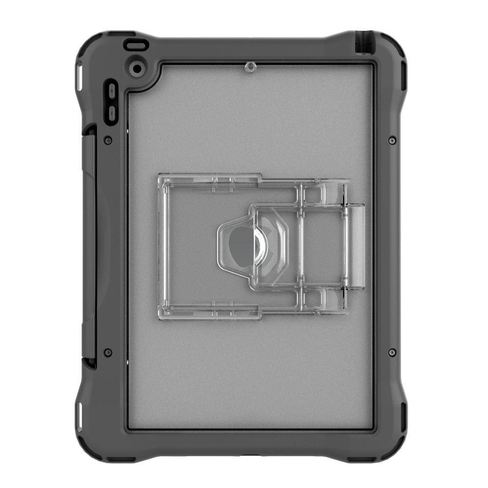 """Brenthaven Edge 360 Carry Case Case for iPad 10.2"""", 2019 (7th, 8th & 9th Gen) (Charge cart compatible version) - Grey, 15BH-APP-E360CC-IPAD102"""