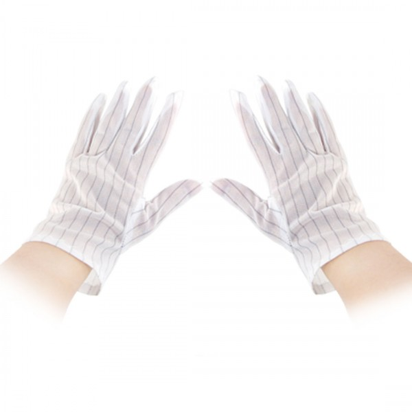 White Anti-static Gloves for Repairs, AS-GLOVES