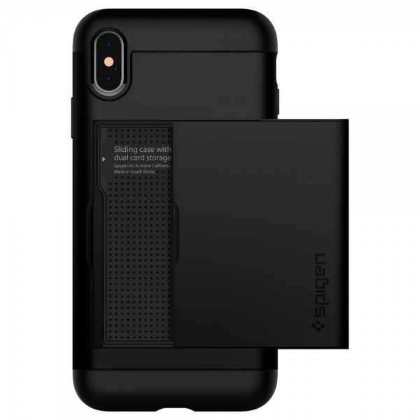 Spigen Slim Armor CS for iPhone X / Xs - Black, 057CS22155