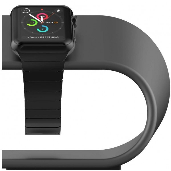 Nomad Stand for Apple Watch - Space Grey, STAND-APPLE-SG