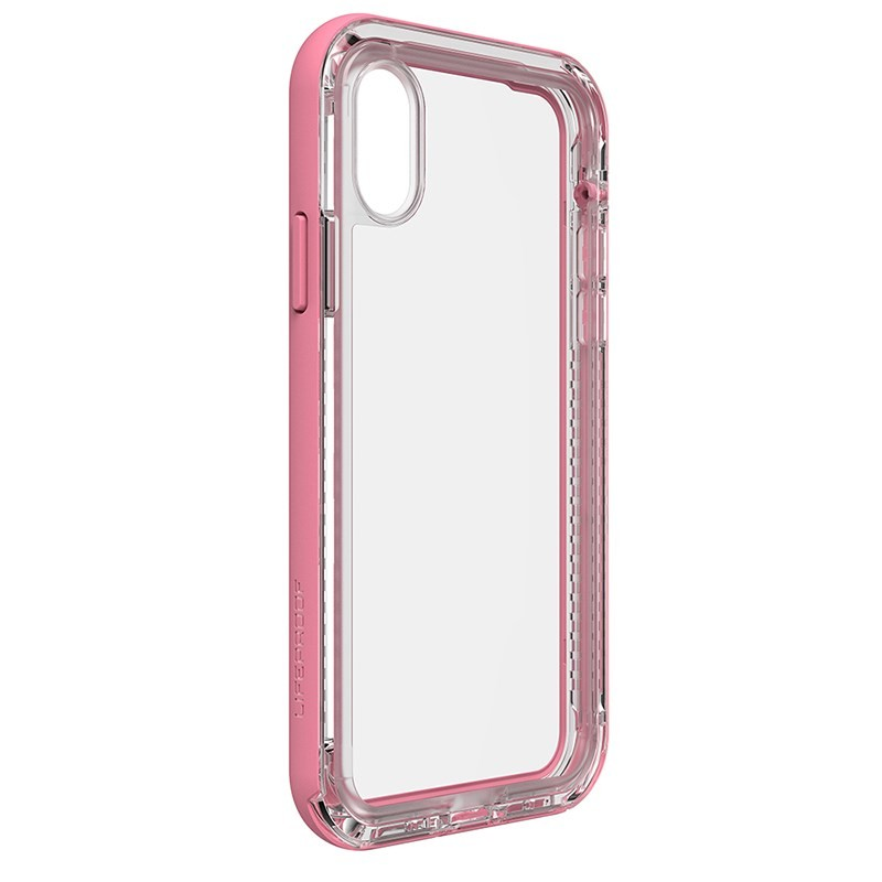 LifeProof NËXT Case for iPhone X - Clear/Rose, 77-57189