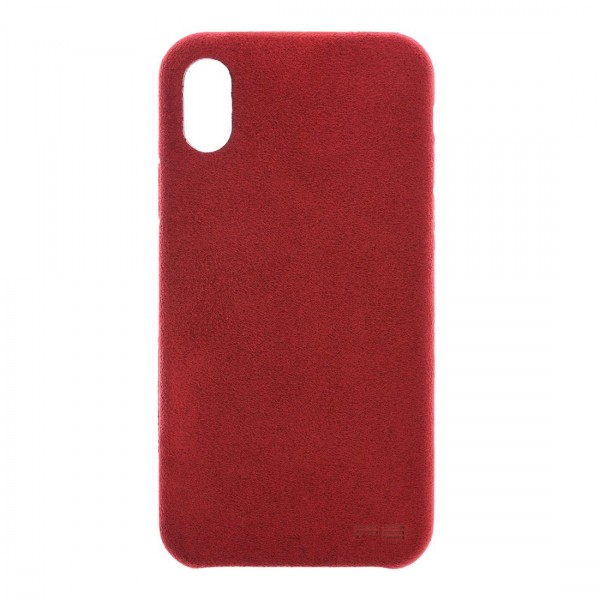 Power Support Ultrasuede Air Jacket for iPhone X - Red, PGK-83