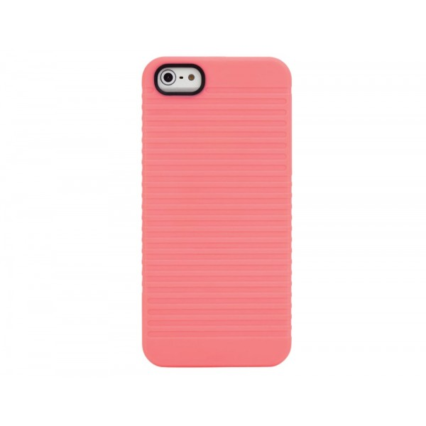 STM Grip Snap Case for iPhone 5/5S - Coral, *STM-IPH5-GRIP-PK