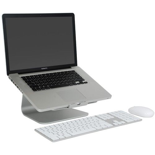 Rain Design mStand360 Laptop Stand with Swivel Base - Silver, 10036