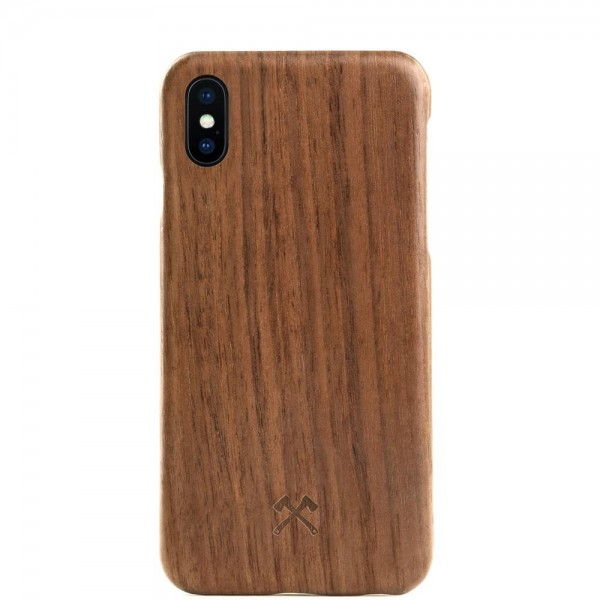 Woodcessories EcoCase Slim for iPhone X/XS - Walnut, eco209