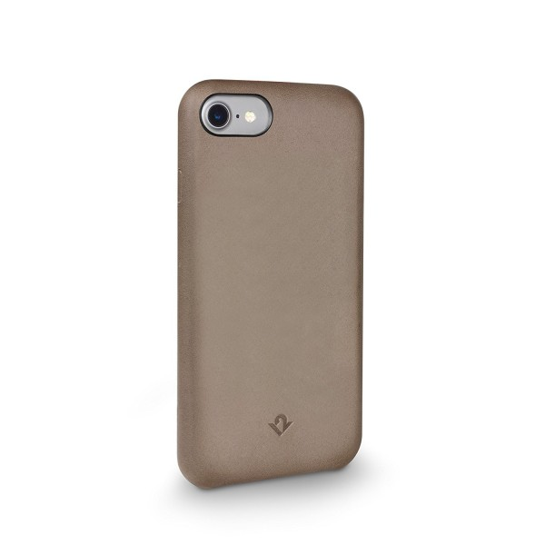 Twelve South Relaxed Leather for iPhone 8/7/6S - Taupe, 12-1641