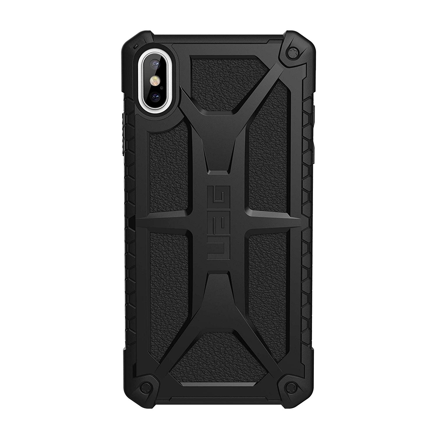 Urban Armor Gear iPhone Xs Max Monarch Feather-Light Rugged Military Drop Tested iPhone Case - Black, 111101114040