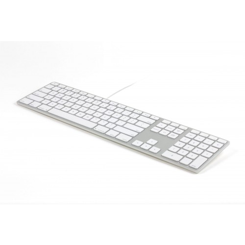 Matias Wired Aluminum Keyboard for Mac - Silver