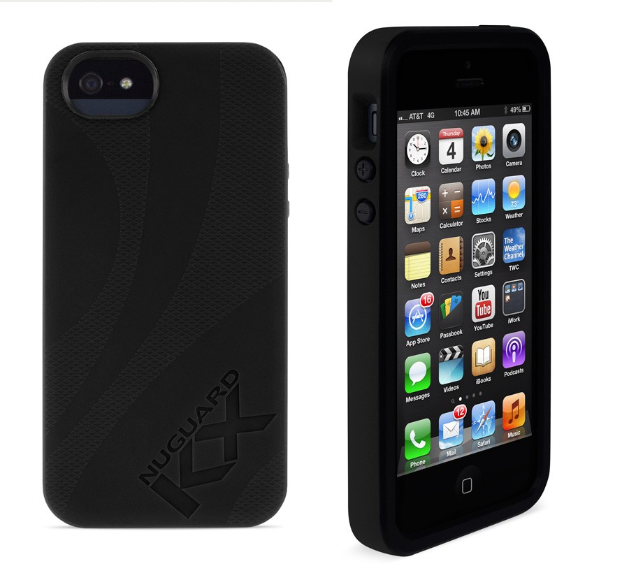 Newer Technology NuGuard KX for iPhone 5/5S/SE - Darkness, IPH5-KX-BK