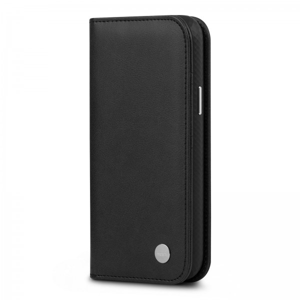 Moshi Overture Case with Detachable Magnetic Wallet - Jet Black, 99MO091016