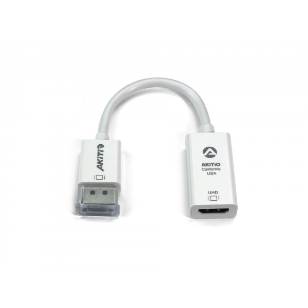 AKiTiO Active DisplayPort to HDMI Adapter, AKTDPHDMICB