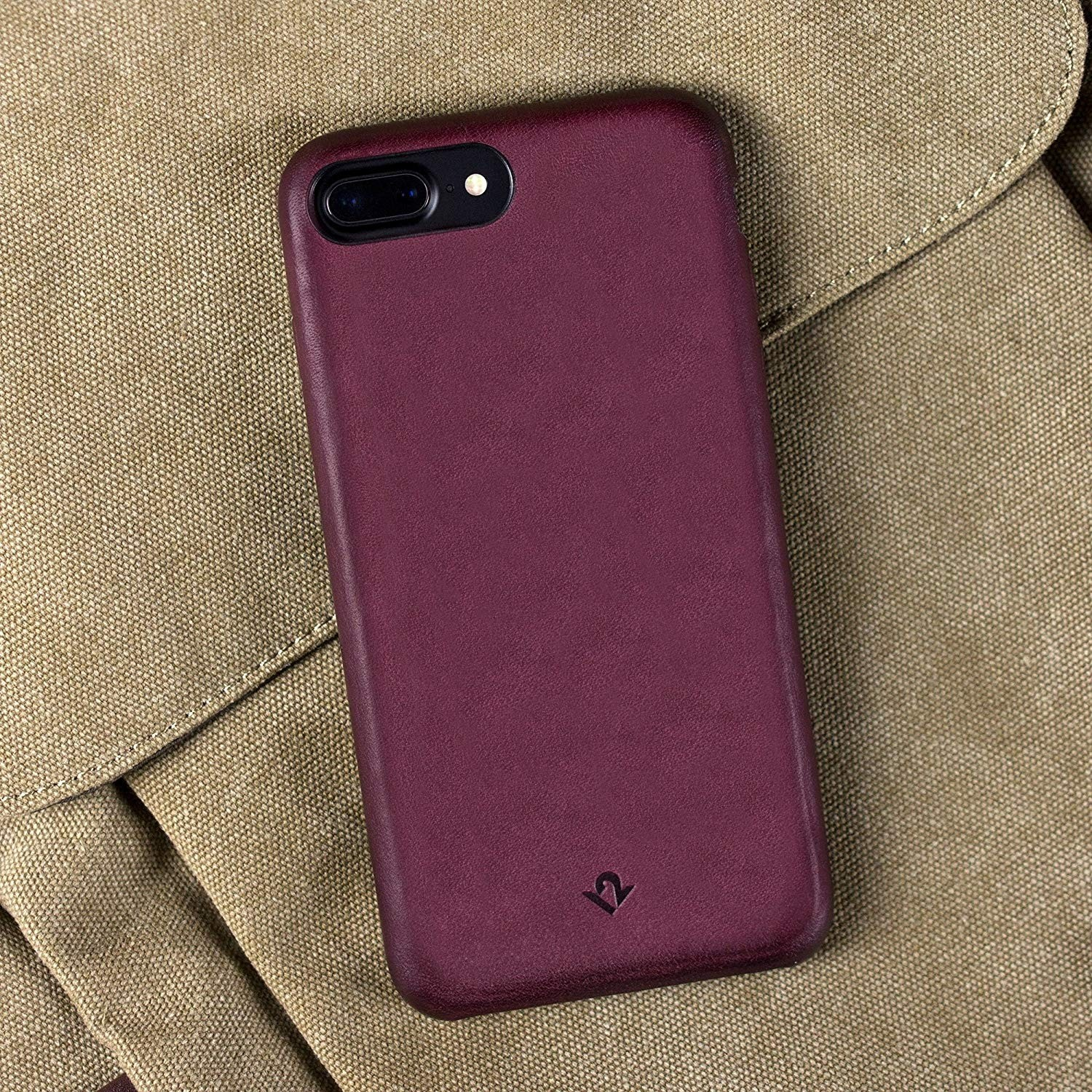 Twelve South RelaxedLeather for iPhone 7/8 Plus - Marsala, 12-1652