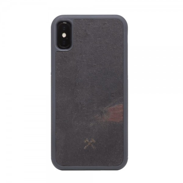 Woodcessories EcoBump Stone for iPhone X/XS - Volcano Black, sto009