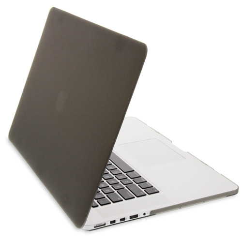 """NewerTech NuGuard Snap-On Laptop Cover for 15"""" MacBook Pro with Retina display (2012-2015) - Gray"""